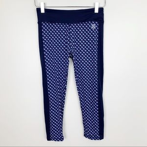 Tory Burch Sport | Printed Cropped Leggings Yoga M